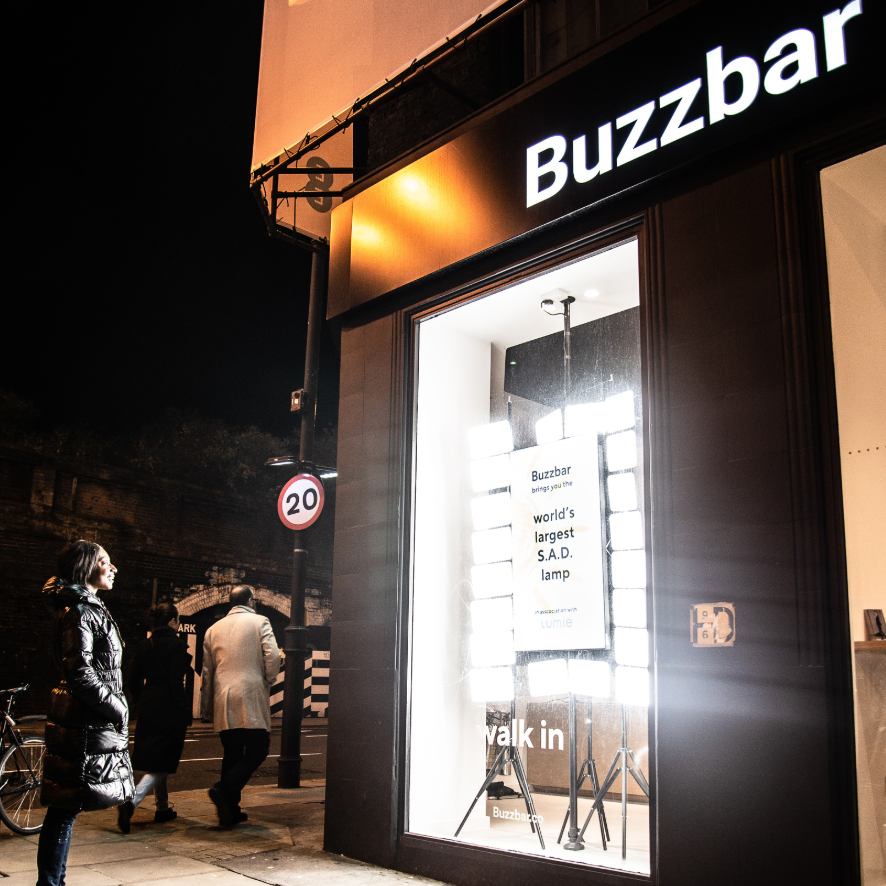 Come and See the World's Largest SAD Lamp at Buzzbar